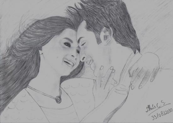Deepika Padukone, Ranbir Kapoor by thais_s